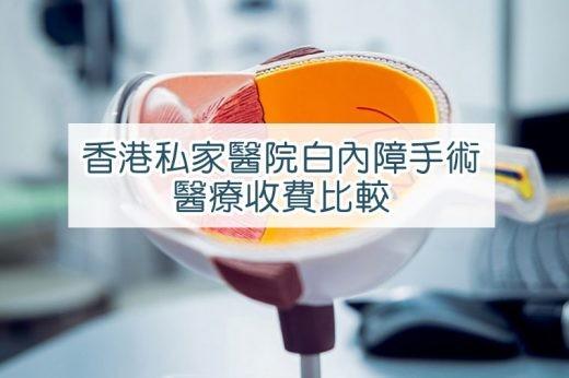 香港白內障手術
